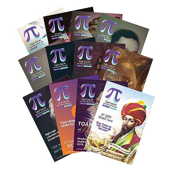 Combo Tạp Chí Pi - Trọn Bộ 12 Cuốn (Tập 1) Năm 2017