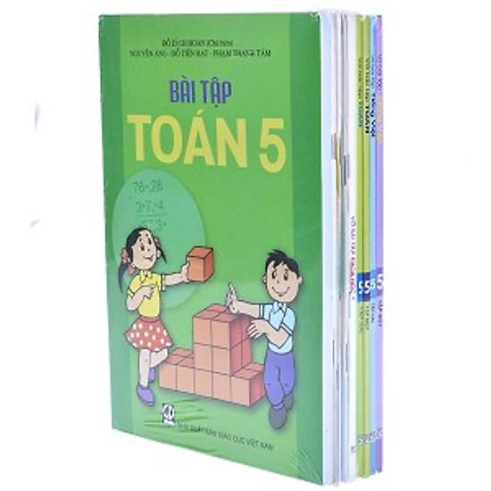 Bộ Sách Bài Tập Lớp 5 (TN)