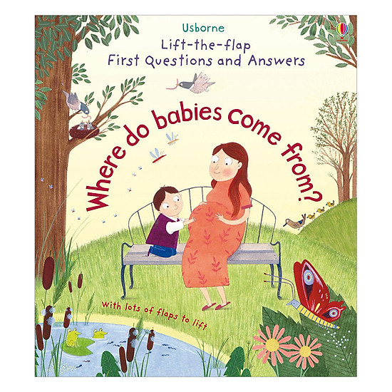 Usborne Lift-The-Flap First Questions And Answers: Where Do Babies Come From?