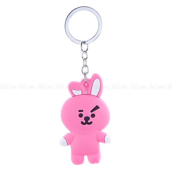 Móc Khóa Cao Su Ban Nhạc BTS - Thỏ Cooky