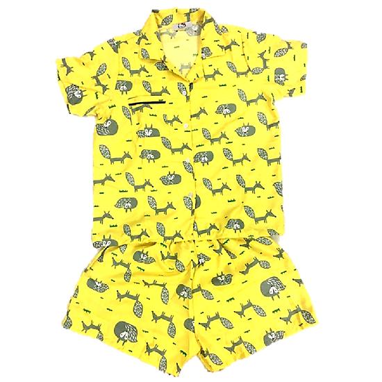 Đồ Mặc Nhà (Ngủ) Pijama Thái Vải Kate TALAN PijamaThaiKate43 - Vàng