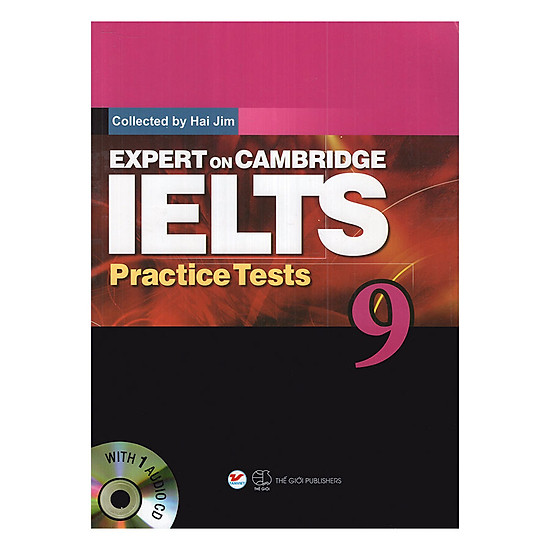 Expert On Cambridge IELTS Practice Tests 9 (Kèm CD)