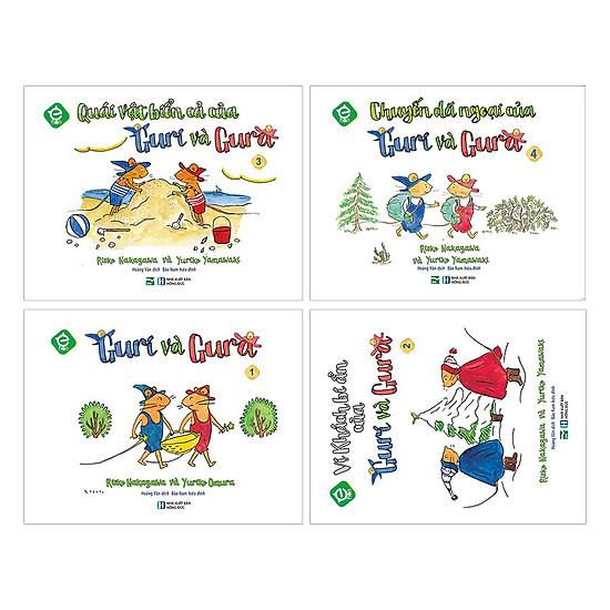 Hình ảnh download sách Combo Sách Ehon - Guri Và Gura