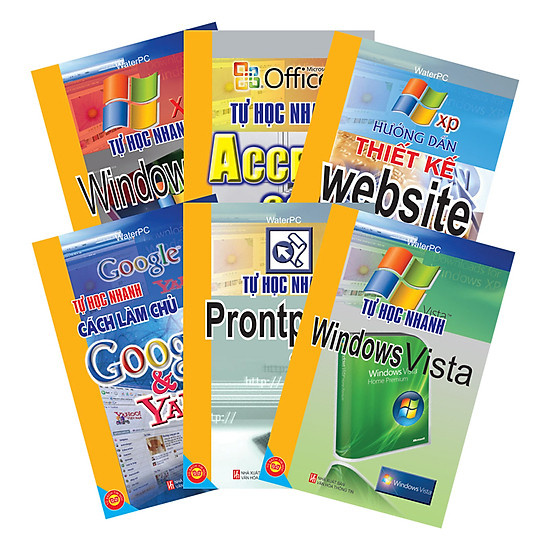 [Download sách] Học Nhanh Tin Học (THN Windows XP + THN Windows Vista + THN Access 2003 + THN Font Page 2003 + Hướng Dẫn Thiết Kế Website + THN Cách Làm Chủ Trên Google Và Yahoo)