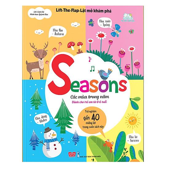 Lift-The-Flap-Lật Mở Khám Phá - Seasons - Các Mùa Trong Năm