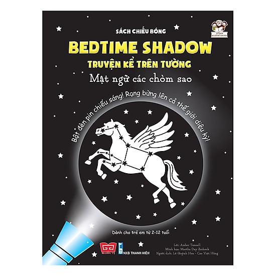 [Download Sách] Sách Chiếu Bóng - Bedtime Shadow – Truyện Kể Trên Tường - Mật Ngữ Các Chòm Sao