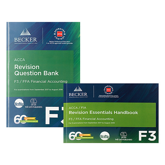[Download sách] Combo Sách ACCA F3 Revision Question Bank Và Revision Essential Handbook