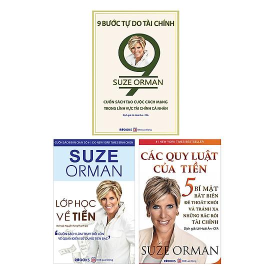 [Download sách] Combo 3 Cuốn Sách Suze Orman