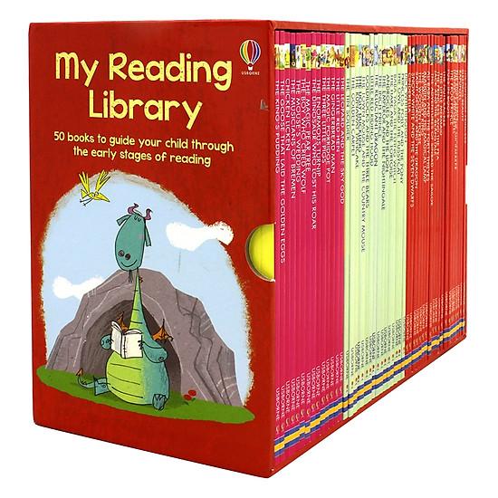 Usborne My Reading Library - Bộ Đỏ 50 cuốn