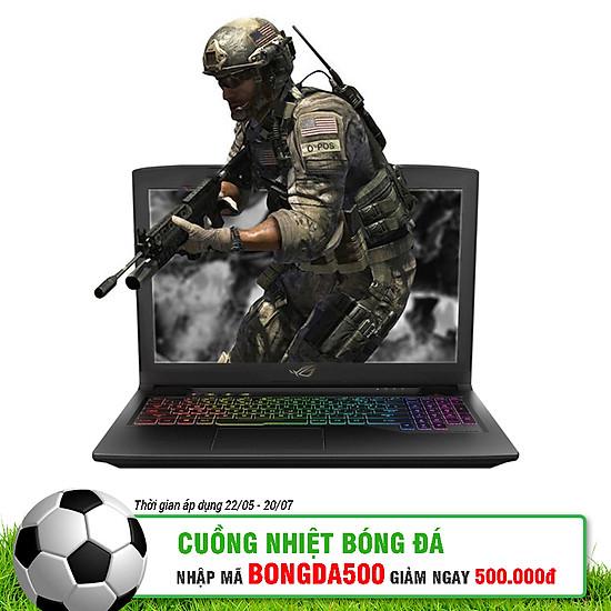 Laptop Gaming Asus ROG Strix SCAR GL703GM-E5016T Core i7-8750H/Win10 (17.3 inch) - Gunmetal Aluminum - Hàng Chính Hãng