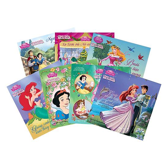 Combo Disney - Công Chúa Giàu Yêu Thương (7 Quyển)