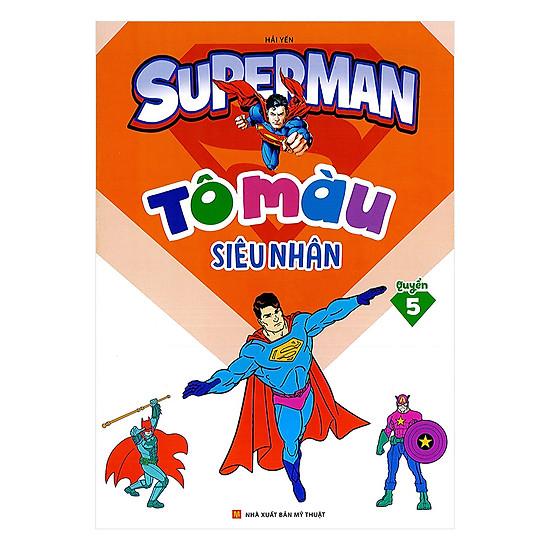 Tô Màu Siêu Nhân Superman Quyển 5