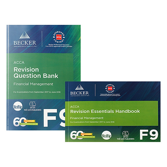 Combo F9  Revision Question Bank Và Revision Essential Handbook