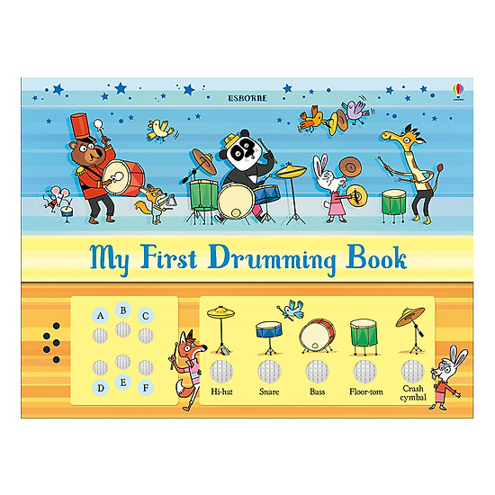 [Download Sách] Usborne My First Drumming Book