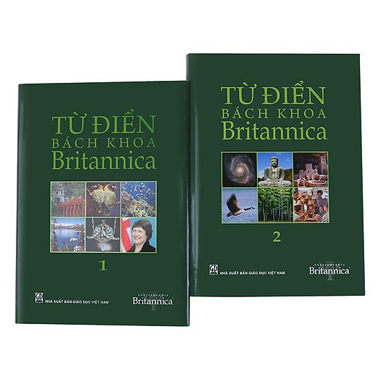 [Download Sách] Combo Từ Điển Bách Khoa Britannica (Trọn Bộ 2 Tập)