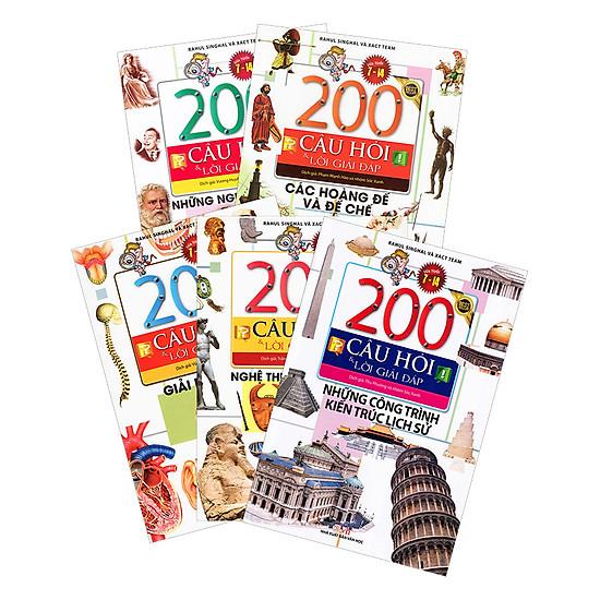 Combo 200 Câu Hỏi Và Lời Giải Đáp Phần 1 (Trọn Bộ 5 Cuốn) - Tặng Kèm Ngẫu Nhiên Truyện Cổ Tích