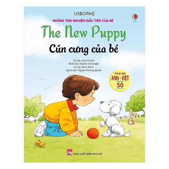 Hình ảnh download sách Những Trải Nghiệm Đầu Tiên Của Bé - Cún Cưng Của Bé
