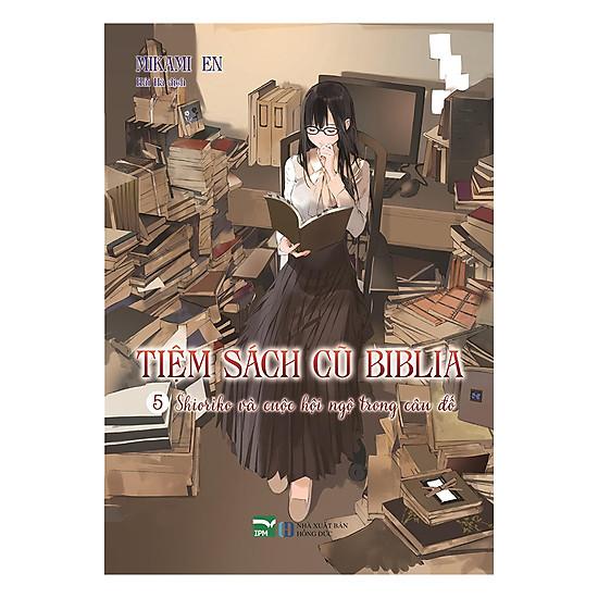 Tiệm Sách Cũ Biblia (Tập 5) - Tặng Postcard PVC Và Bọc Sách Plastic