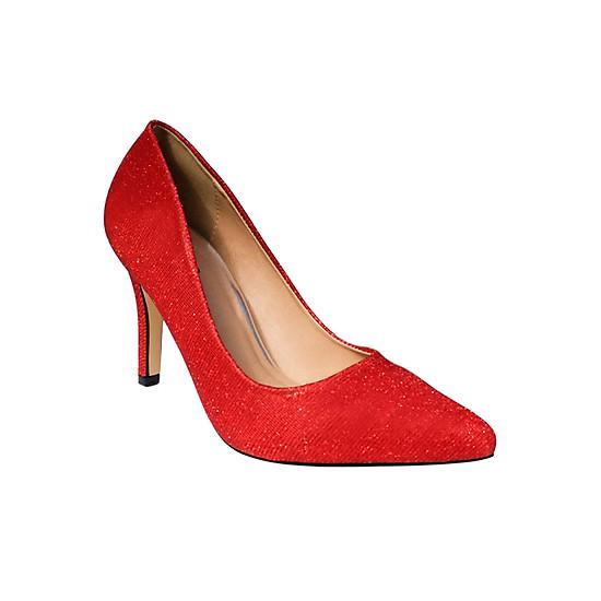 Giày Cao Gót Kim Tuyến Sulily G01-IV17 - Đỏ