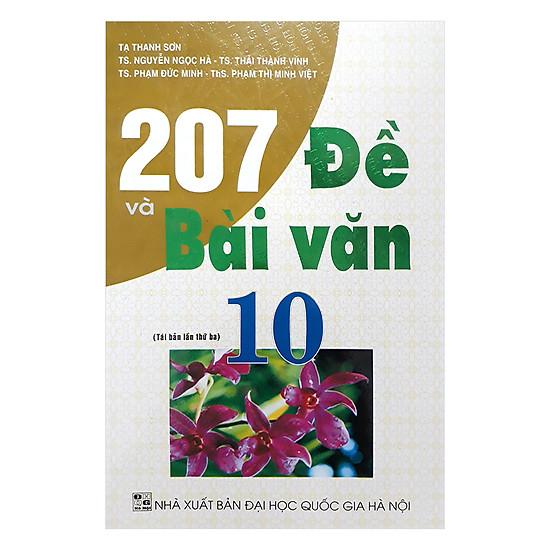 207 Đề Và Bài Văn 10