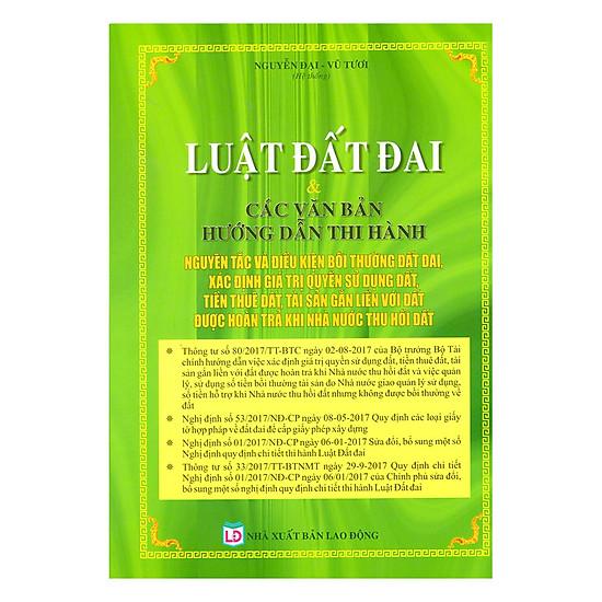 Luật Đất Đai - Các Văn Bản Hướng Dẫn Thi Hành