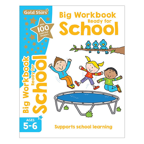 Gold Stars - Big Workbook Ready For School Ages 5-6