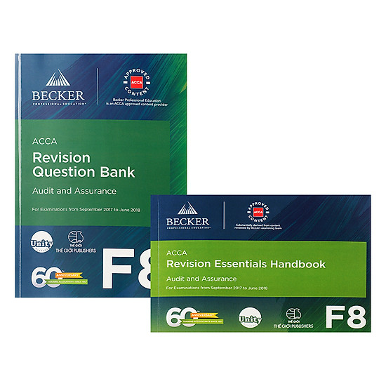 [Download sách] Combo Sách ACCA F8 Revision Question Bank Và Revision Essential Handbook