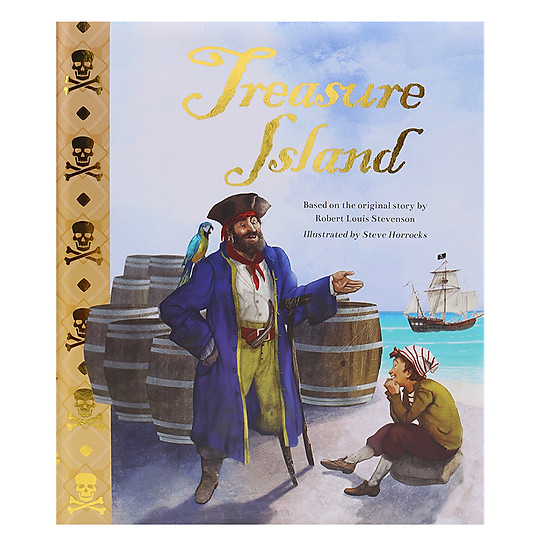 Treasure Island - Padded Picture Book