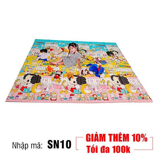 Thảm Chơi Cho Bé Hàn Quốc Lamilon LAMI04 (2m x 2m4) - Mẫu Ngẫu Nhiên ...