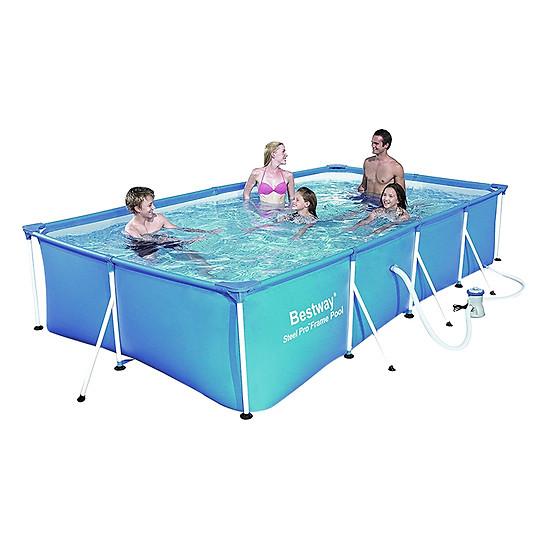 Bể Bơi Khung Kim Loại Bestway 56424 (400 x 211 x 81 cm)
