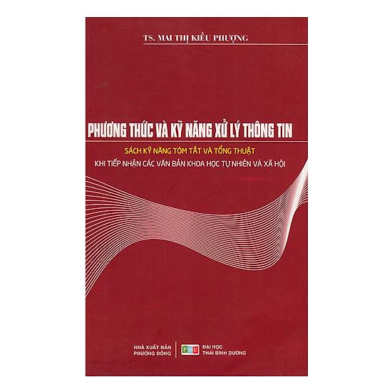 [Download Sách] Phương Thức Và Kỹ Năng Xử Lý Thông Tin