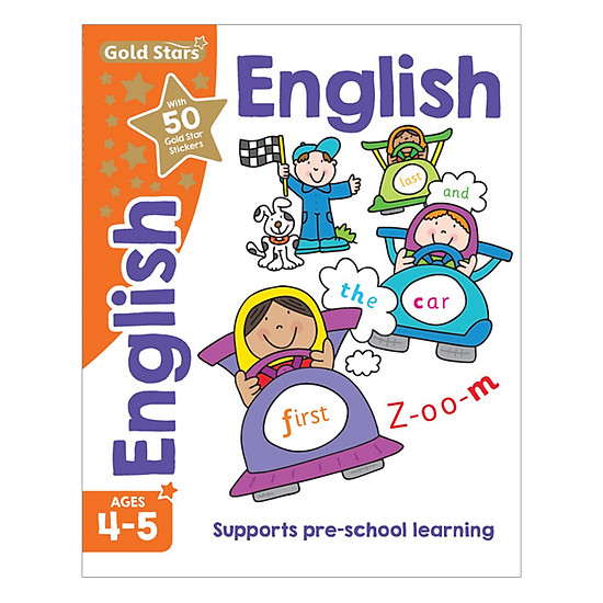 Gold Stars - English Ages 4-5