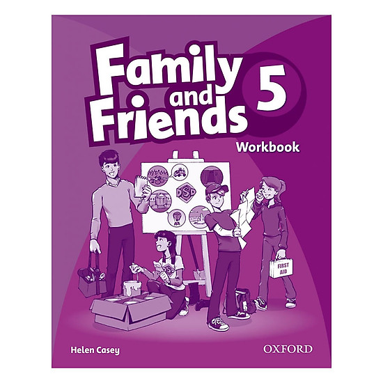 Family And Friends (Bre) (1 Ed.) 5: Workbook
