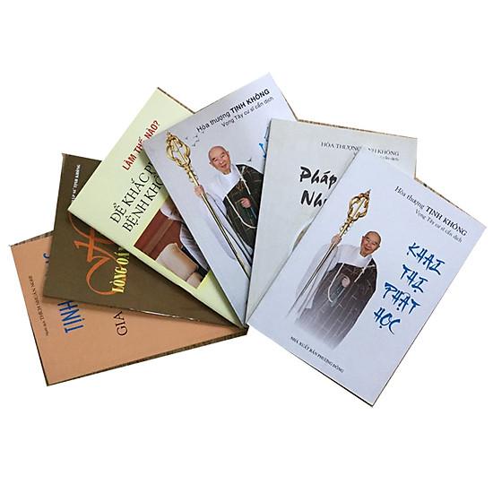Combo 6 cuốn Tịnh Không Pháp Ngữ - Khai thị Phật học