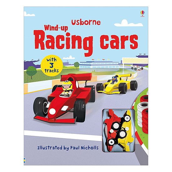 Usborne Wind-Up Racing Cars