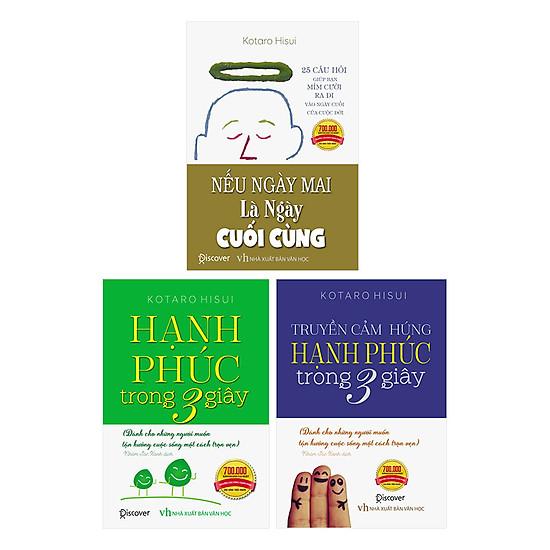 [Download Sách] Combo Bộ Truyền Cảm Hứng Hạnh Phúc - Tặng Kèm 1 Cuốn Kỹ Năng Sống