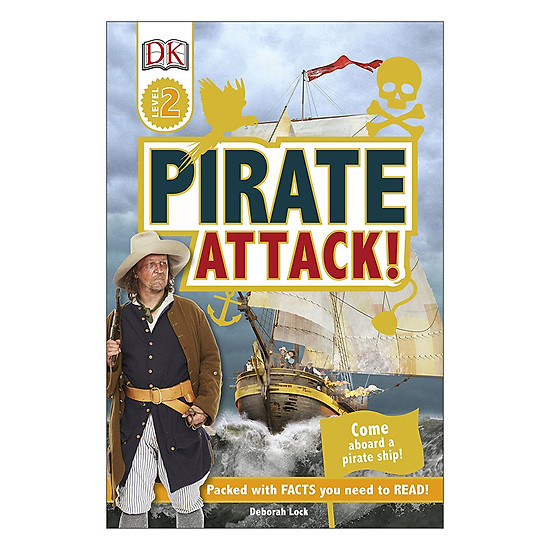 [Download sách] Pirate Attack! - DK Readers Level 2