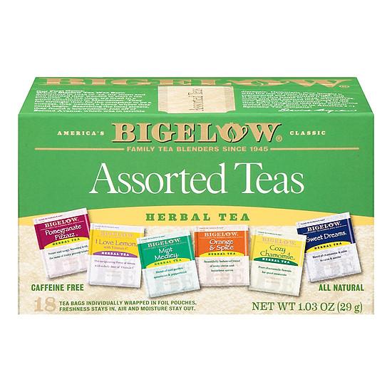 Hộp 18 Túi Trà Thảo Mộc Bigelow Assorted Herb Teas (1.03g / Túi) ...