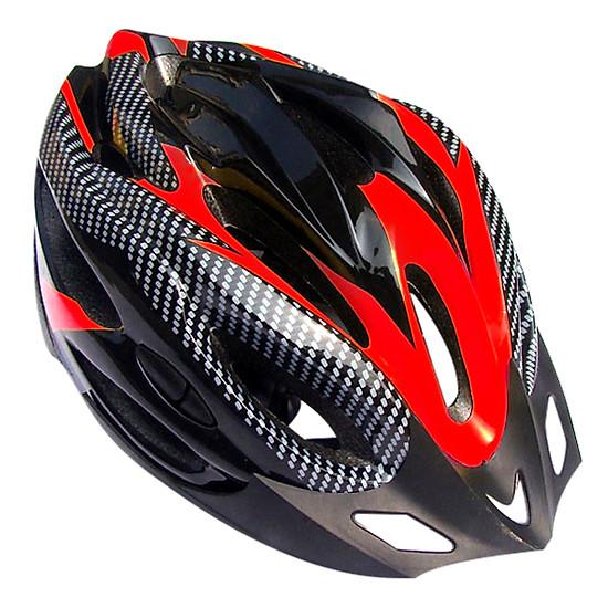 Mũ Bảo Hiểm Giả Sợi Carbon MBH260_DO - Đỏ