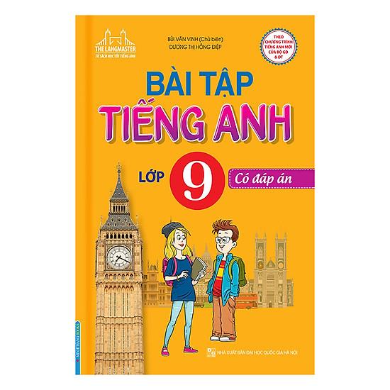 [Download Sách] Bài Tập Tiếng Anh Lớp 9