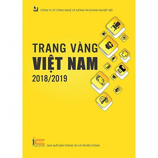Sách Trang Vàng Việt Nam - Ấn phẩm 2018/2019