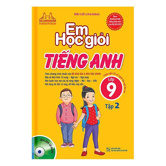 [Download Sách] Em Học Giỏi Tiếng Anh Lớp 9 (Tập 2) - Kèm Đĩa CD
