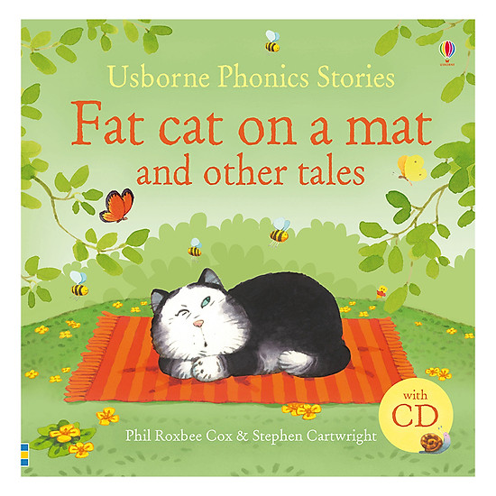 Usborne Phonics Stories  - Fat Cat On A Mat And Other Tales (With CD)