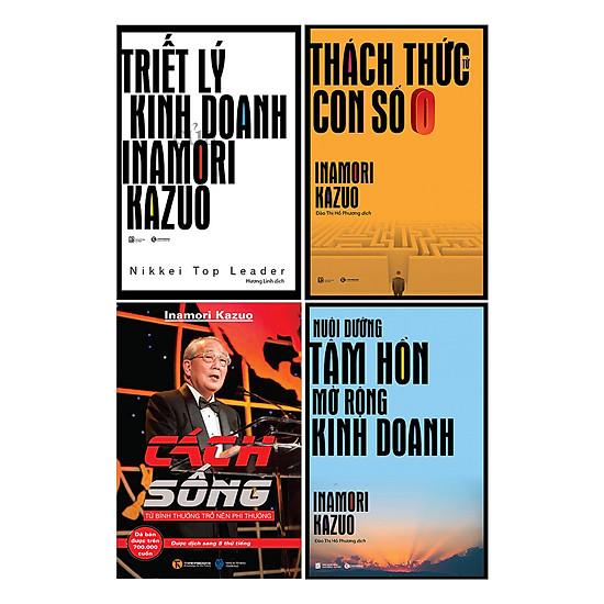 Bộ Triết Lý Của Inamozi Kazuo (Trọn Bộ 4 Cuốn)