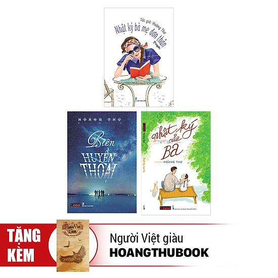 Combo Nhật Ký Của Ba + Biên Huyền Thoại + Nhật Ký Bà Mẹ Đơn Thân (Tặng Kèm Sách Người Việt Giàu)