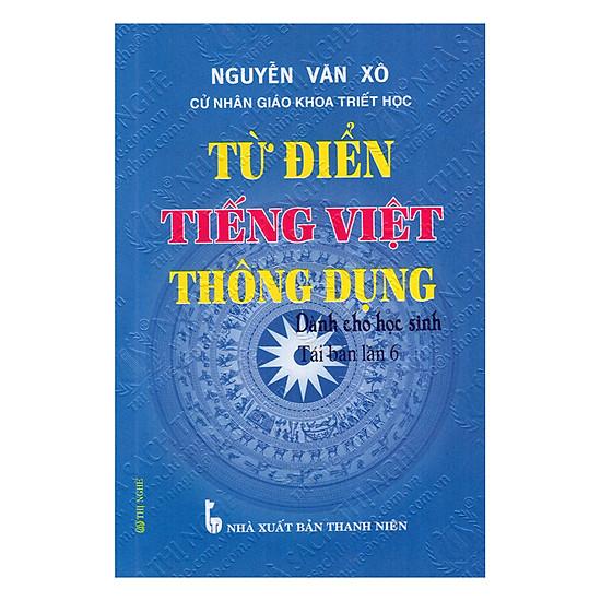 [Download Sách] Từ Điển Tiếng Việt Thông Dụng Dành Cho Học Sinh