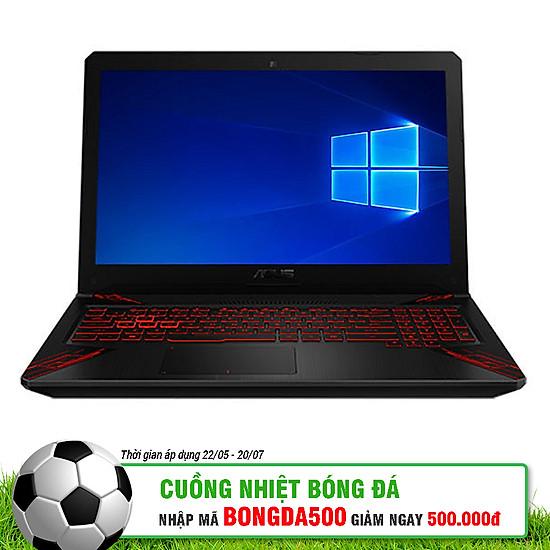 Laptop Asus ROG TUF Gaming FX504GD-E4262T Core i5-8300HQ/Win10 (15.6 inch) - Black - Hàng Chính Hãng