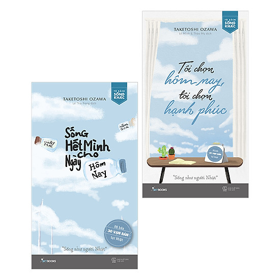 Combo Sách Sống Hết Mình - Có Tặng Kèm Bookmark
