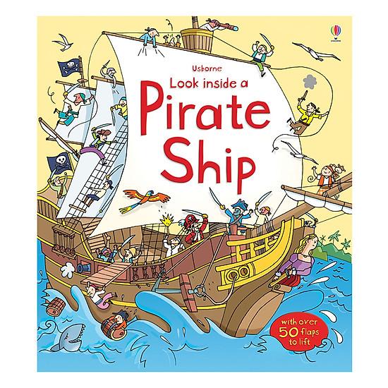 Usborne Look Inside A Pirate Ship
