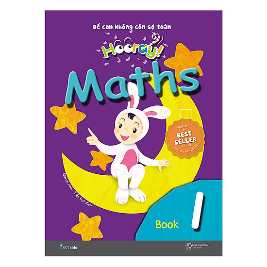 Hooray Math – Đừng Lo Để Cho Con Nghĩ (Book 1)